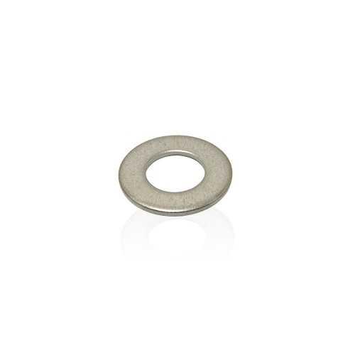 Rondelle plate moyenne M 2 mm en inox A4